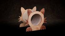 Skrabadlo pro koćky - Kot mały